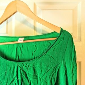 Old Navy Green Rayon top